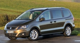 SEAT Alhambra Scoops MPV Title