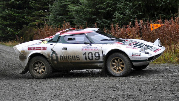 Steve Perez wins Historic Cambrian Rally